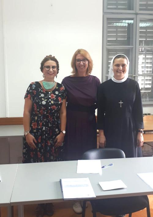 Prvi put na diplomskim ispitima na KBF-u 3 profesorice zajedno